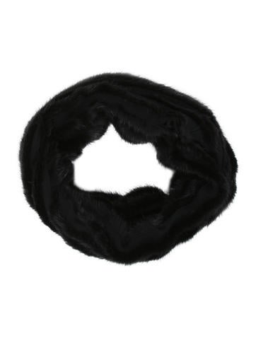Louis Vuitton Mink Embellished Snood None