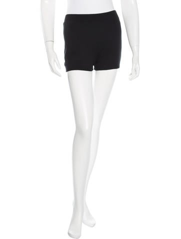 Louis Vuitton Knit Mini Shorts None