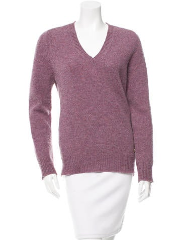 Louis Vuitton Wool V-Neck Sweater None