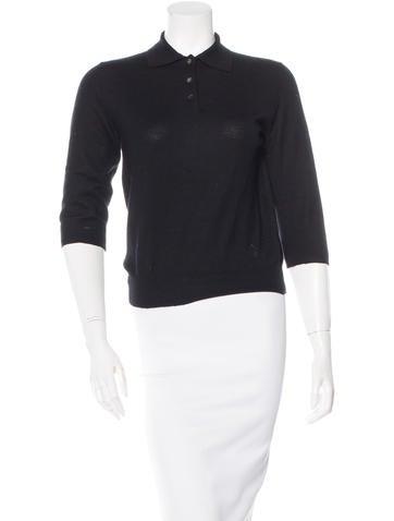 Louis Vuitton Knit Polo Top None