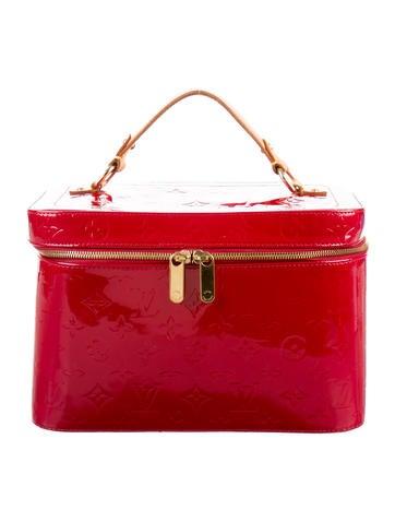 Louis Vuitton Vernis Vanity Case GM None