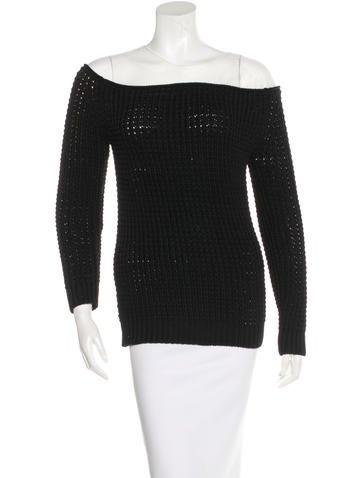 Loewe Spring 2016 Mesh-Paneled Sweater None