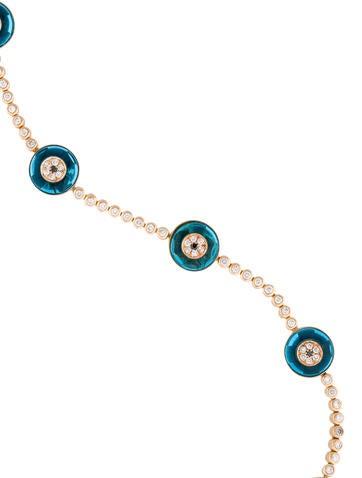 Lorraine Schwartz Diamond Evil Eye Bracelet - Bracelets ...