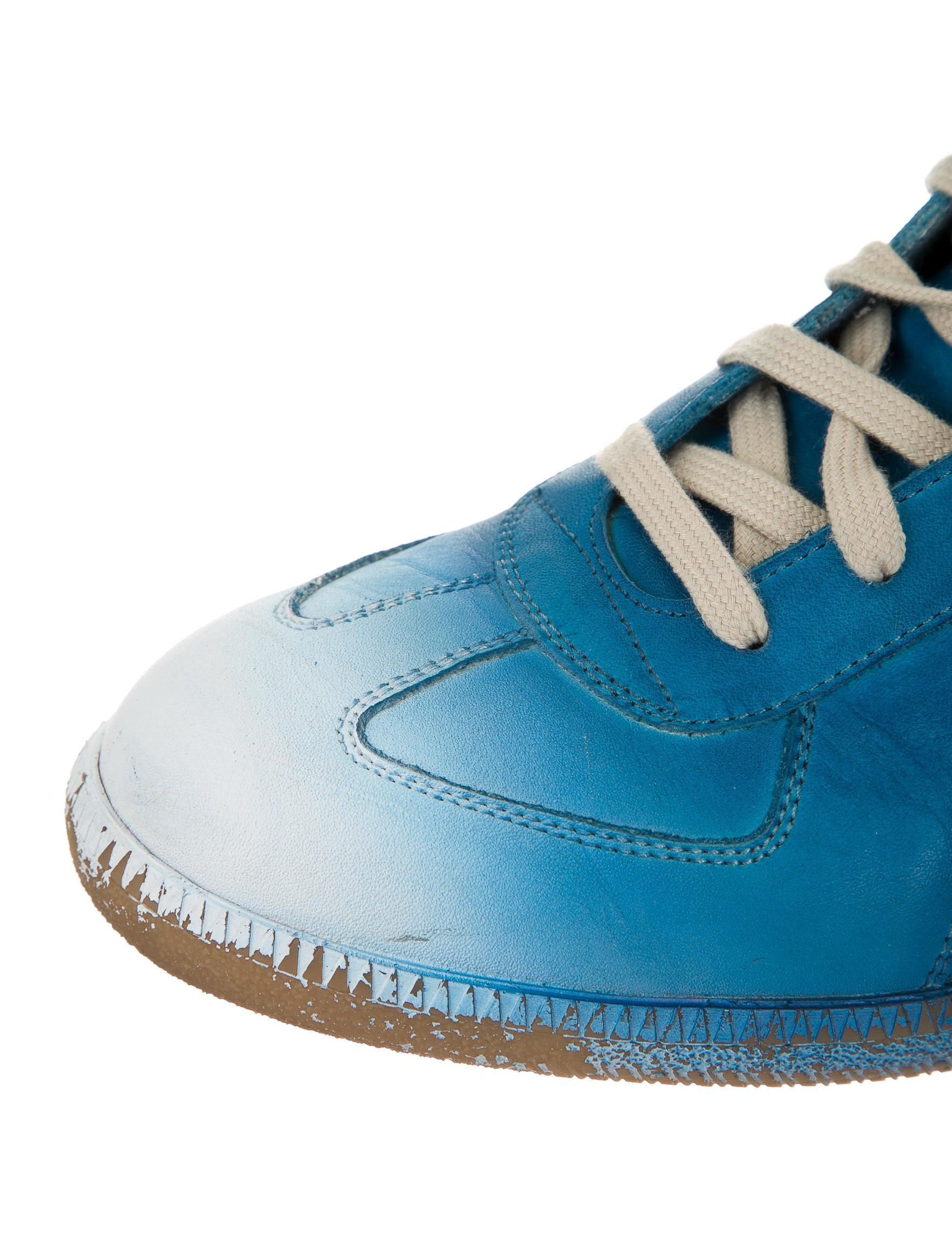 maison martin margiela sneakers shoes mai22261 the realreal. Black Bedroom Furniture Sets. Home Design Ideas