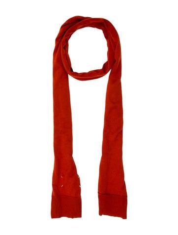 Maison Martin Margiela Cashmere Knit Scarf None