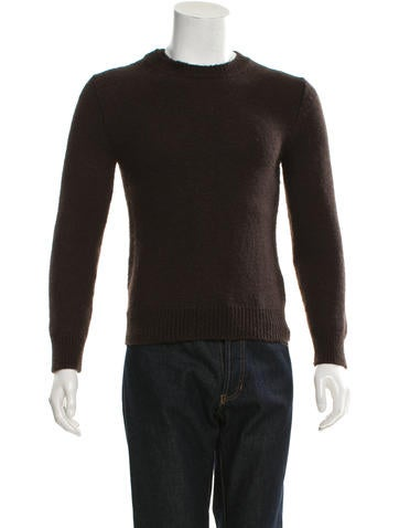 Maison Martin Margiela Wool Crew Neck Sweater None