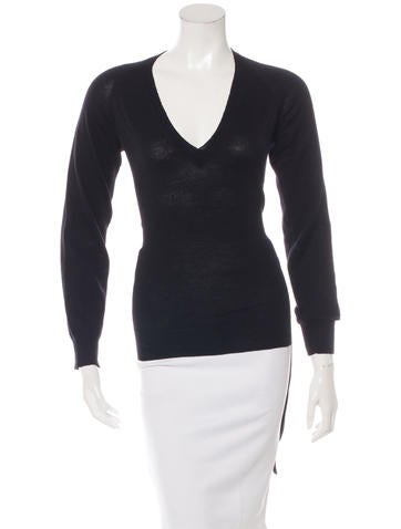 Maison Martin Margiela Belted Wool Sweater None
