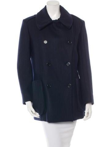 Maison Martin Margiela Double-Breasted Wool Coat None