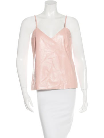 Maison Martin Margiela Floral Leather Top w/ Tags None