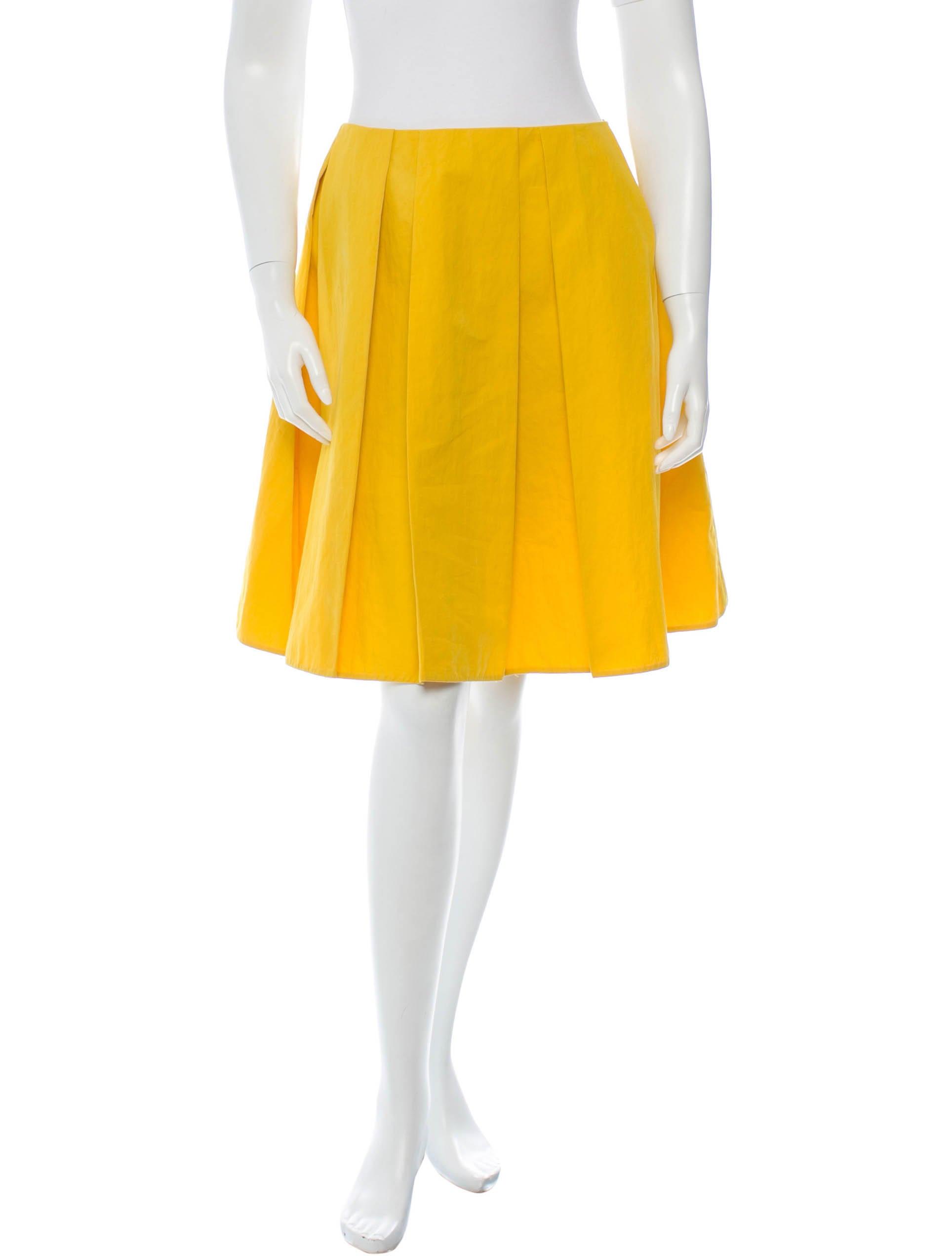 marni box pleated skirt skirts man35441 the realreal