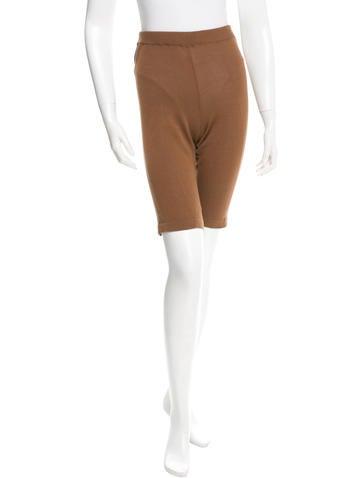 Marni Rib Knit Bermuda Shorts None