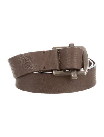 Marni Leather Buckled Belt