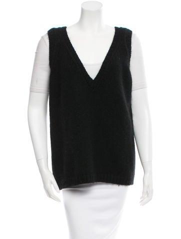 Marni Wool V-Neck Vest None