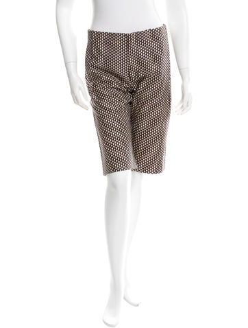 Marni Printed Bermuda Shorts None