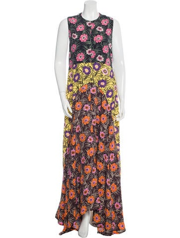 Marni Resort 2016 Printed Maxi Dress