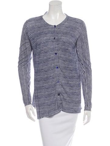 Marni Stripe Knit Cardigan None