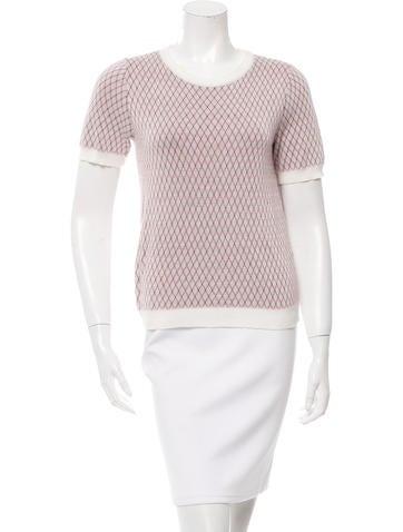 Marni Short Sleeve Knit Top None