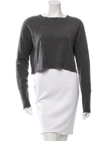 Marni Cashmere Cropped Sweater None