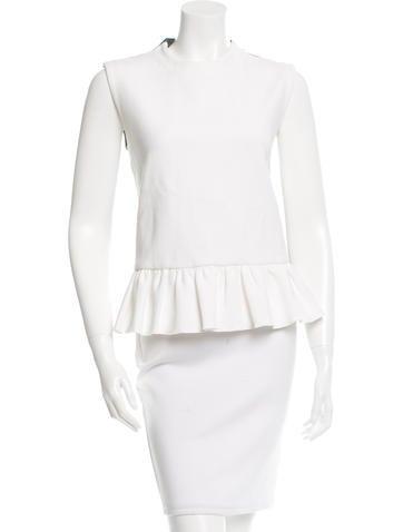 Marni Wool-Blend Sleeveless Top w/ Tags None