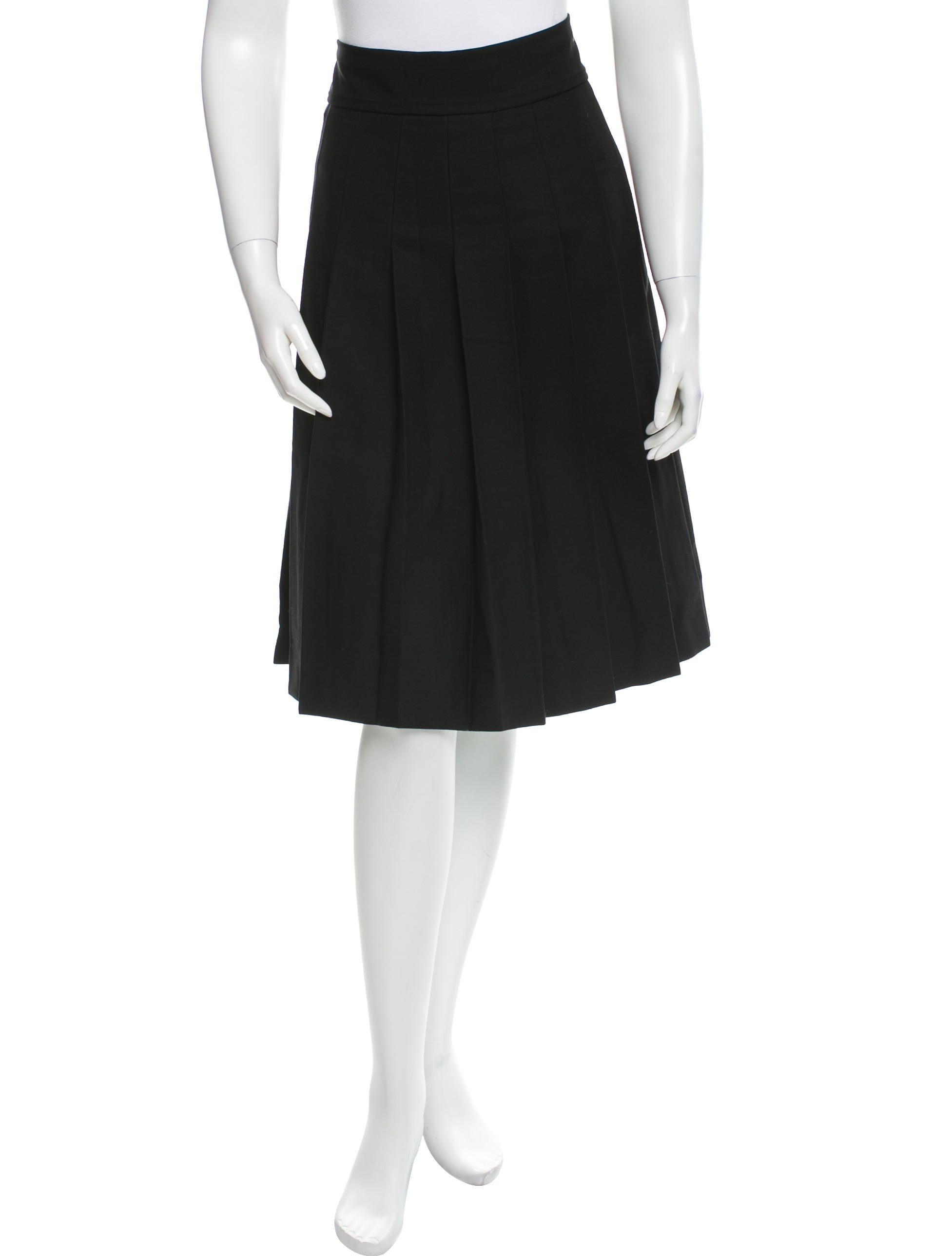 marc wool pleated skirt clothing mar29808 the