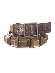Prada Suede Belt - Accessories - PRA79008 | The RealReal