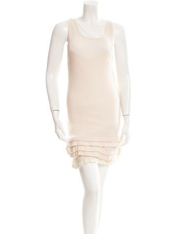 Marc Jacobs Rib Knit Mini Dress None