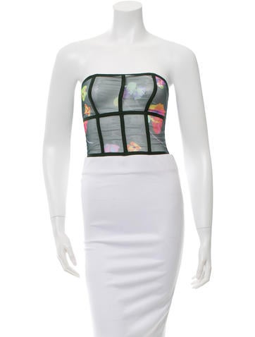 Marc Jacobs Sheer Crop Top w/ Tags None