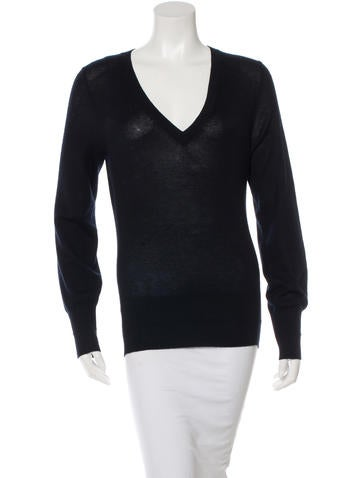 Marc Jacobs Rib Knit Long Sleeve Sweater None
