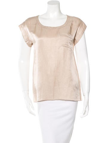 Marc Jacobs Scoop Neck Short Sleeve Top w/ Tags None