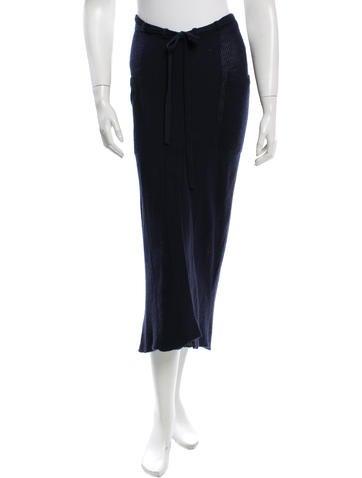 Maiyet Knit Midi Skirt None