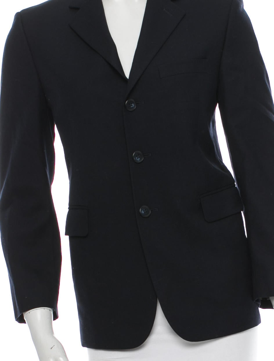 michael kors wool blazer jackets mic30756 the realreal. Black Bedroom Furniture Sets. Home Design Ideas