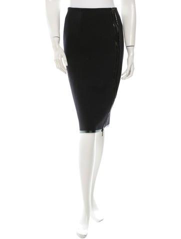 Michael Kors Wool Skirt None