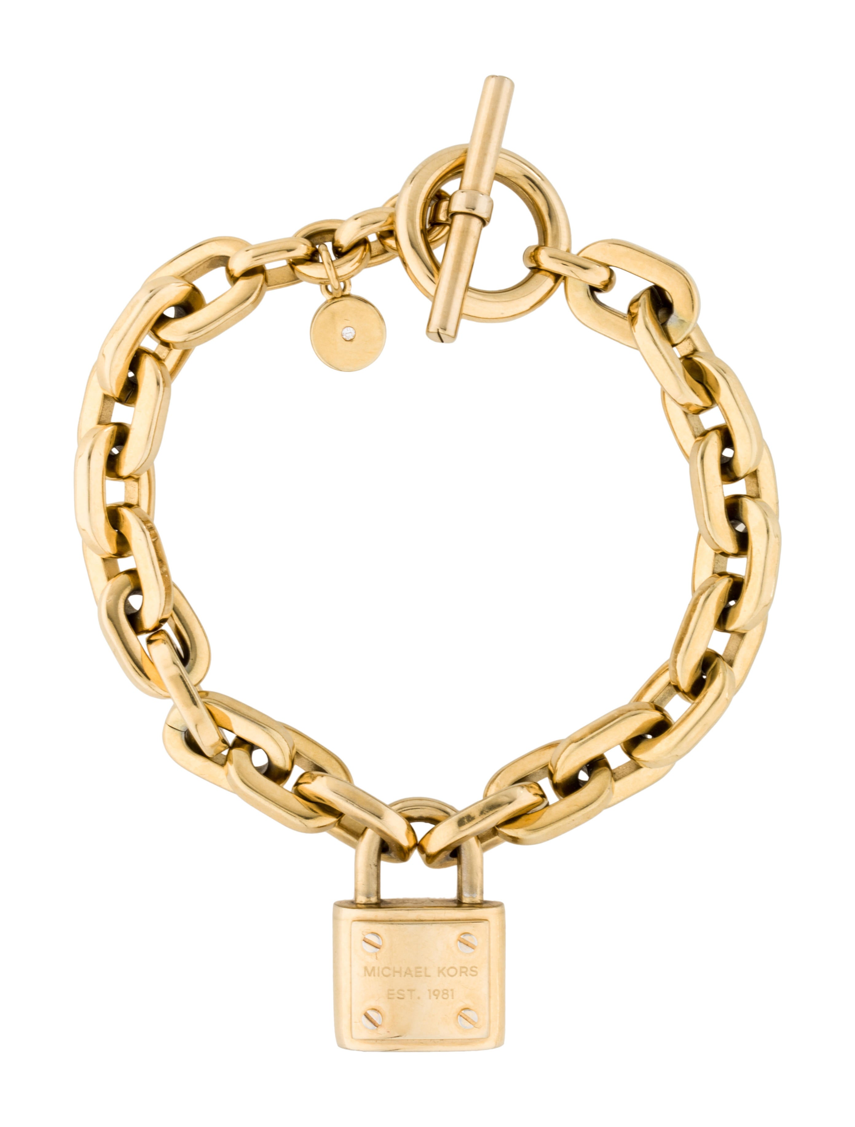 michael kors lock bracelet bracelets mic34824 the