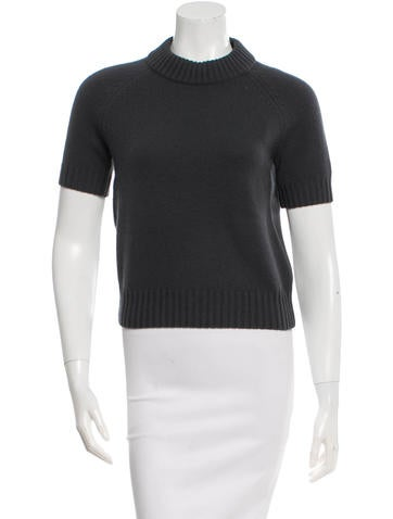 Michael Kors Short Sleeve Sweater None