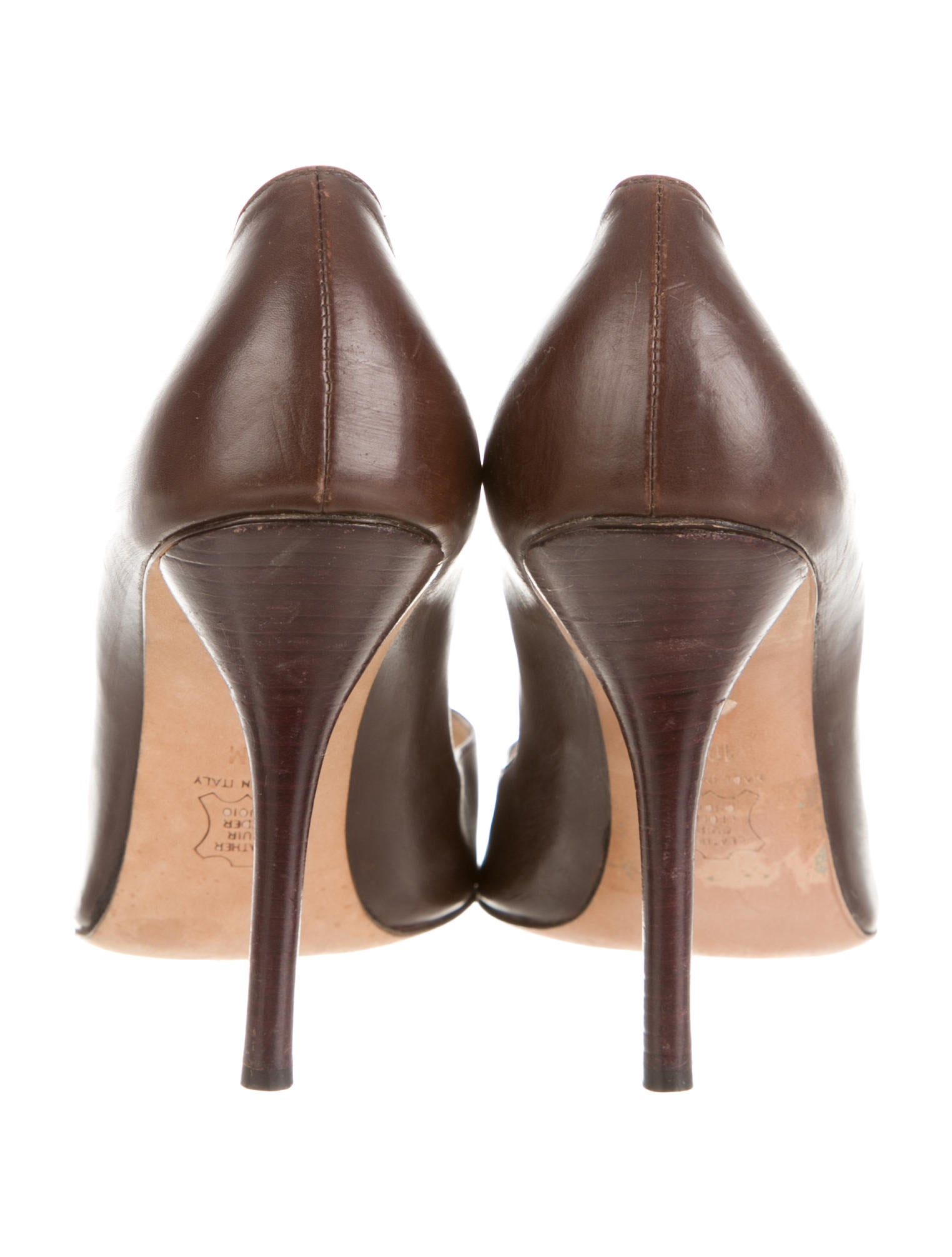 michael kors leather pointed toe pumps shoes mic36136