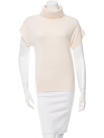 Michael Kors Short Sleeve Turtleneck Top None