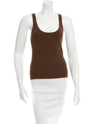 Michael Kors Rib Knit Scoop Neck Top w/ Tags None