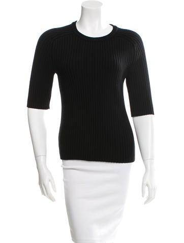 Michael Kors Wool Short Sleeve Top None