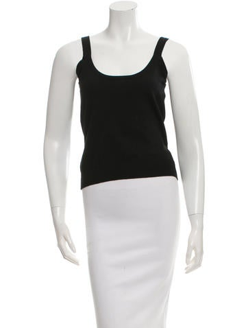 Michael Kors Sleeveless Knit Top None