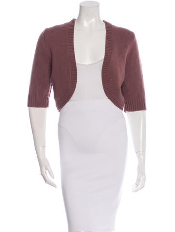 Michael Kors Cropped Cashmere Cardigan w/ Tags None
