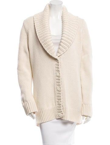 Michael Kors Rib Knit Cardigan None