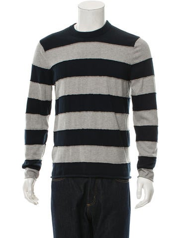 Michael Kors Striped Pullover Sweater None