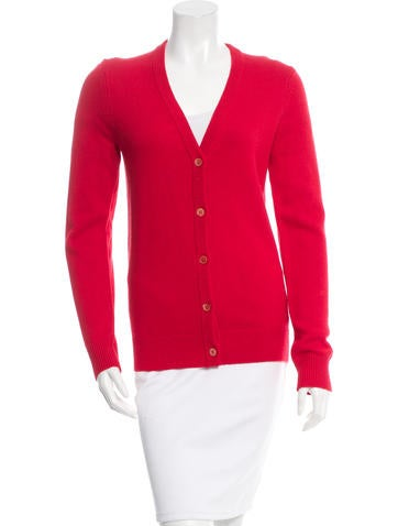 Michael Kors Knit Button-Up Cardigan w/ Tags None