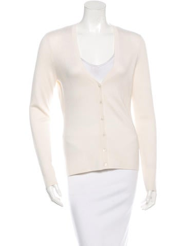 Michael Kors Long Sleeve Cashmere Cardigan w/ Tags None