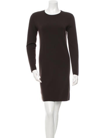Michael Kors Long Sleeve Knit Dress None