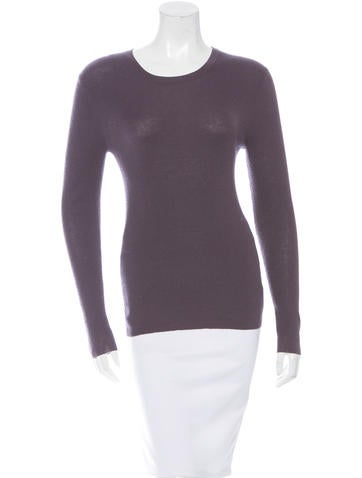 Michael Kors Cashmere Rib Knit Sweater None