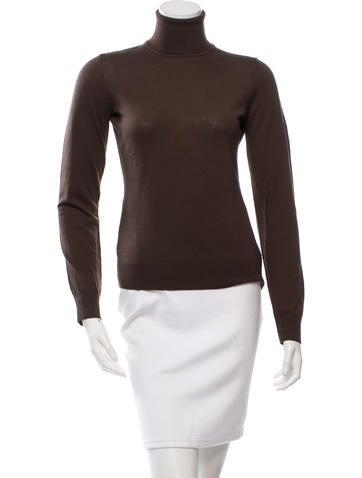 Michael Kors Merino Wool Turtleneck Sweater None