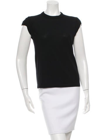 Michael Kors Ruched Wool Sweater None