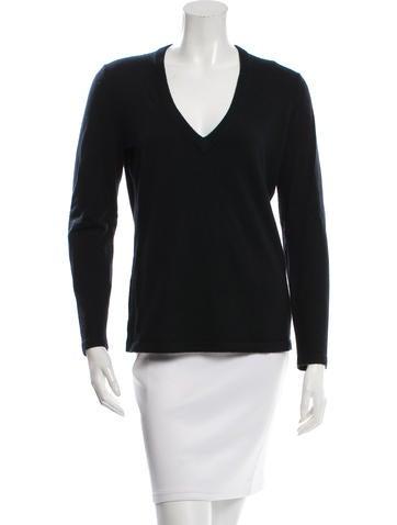 Michael Kors V-Neck Knit Sweater None