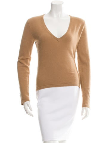 Michael Kors Cashmere V-Neck Sweater None